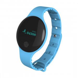 Bracelet intelligent Bluetooth 4.0 écran OLED de 0,66 pouce TLW08, support podomètre / rappel d'appel / suivi du sommeil / fonction tactile, compatible avec iOS et système Android (bleu) SH168L1782-20