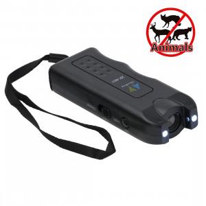 Chasse-chien ultrasonique avec 2 lampes de poche (noir) SC04341584-20