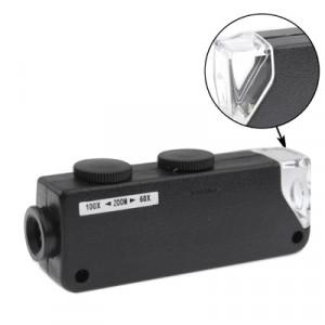 60X-100X Zoom & Focus LED Microscope Loupe Loupe Bijoux Microscope Loupe SH4218178-20