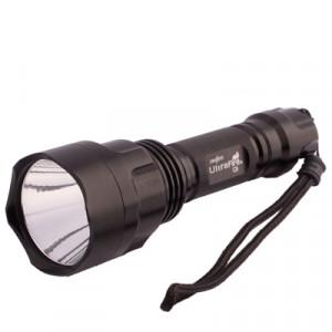 Lampe de poche ultra lumineuse UltraFire C8, 1 LED CREE XML-T6, compatible avec Li-18650 SH80711695-20