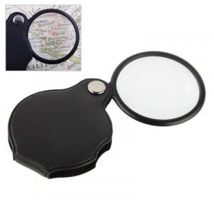 10 PCS 5X 50mm loupe poche pliante loupe loupe poche spiegel (noir) SH84401286-20