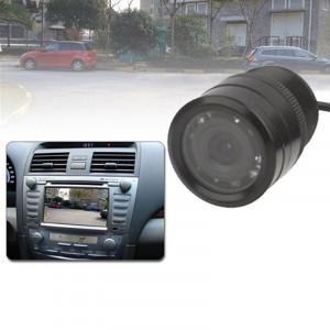 Caméra de recul pour voiture à capteur LED, objectif couleur de soutien / 120 degrés visible / fonction étanche et capteur de nuit, diamètre: 31 mm (E328) (noir) SH0219623-20