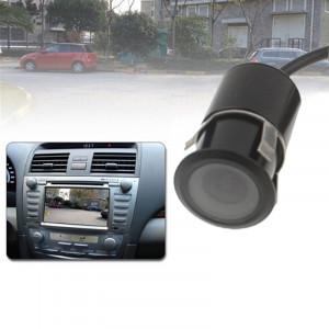 Caméra de recul pour voiture à capteur LED, objectif de couleur de soutien / 120 degrés visible / fonction étanche et capteur de nuit, diamètre: 20 mm (E305) (noir) SH02231283-20