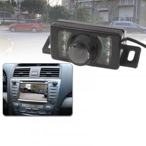 Caméra de recul pour voiture à capteur LED, lentille de couleur de soutien / 120 degrés visible / étanche et capteur de nuit (E350) (noir) SH0225858-20