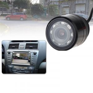 E325 LED caméra de recul caméra de recul, lentille de couleur de soutien / 120 degrés visualisable / étanche et capteur de nuit fonction, diamètre: 30 mm (noir) SH02271424-20