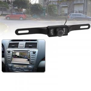 Caméra de recul pour voiture à capteur LED, objectif couleur compatible / 135 degrés visible / étanche et capteur de nuit (E300) (noir) SH0231295-20
