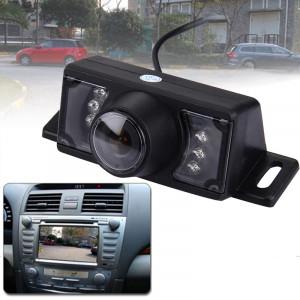 2.4G sans fil GPS vue arrière de voiture de vision nocturne inversant la caméra de recul avec 7 LED, grand angle de vision: 120 ° (WX320EBS) (noir) SH0232310-20