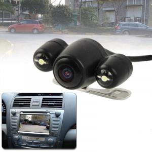 Caméra de recul sans fil de vision nocturne GPS 2.4G avec 2 LED, grand angle de vision: 120 ° (WX808EBS) (noir) SH0233868-20