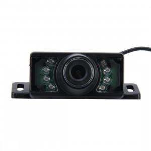 7 LED IR infrarouge étanche Vision arrière caméra de vision pour GPS de voiture, grand angle de vision: 170 degrés (DM320P) (noir) SH0242227-20