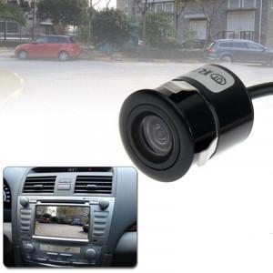 Caméra de vision arrière filaire avec poinçon filaire étanche avec platine, support installé dans le navigateur de voiture ou moniteur de voiture, angle de vision large: 170 degrés (WD004) (noir) SH0251850-20