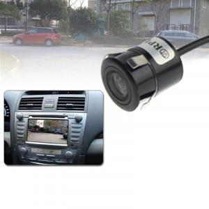 Caméra de vision arrière DVD réceptrice étanche sans fil avec plaque de pesée, prise en charge du navigateur de voiture ou moniteur de voiture, angle de vision large: 170 degrés (WX004) (noir) SH02521333-20
