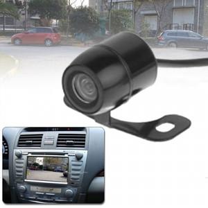 Caméra de vision arrière sans fil Butterfly DVD étanche avec plaque de pesée, support installé dans le navigateur de voiture DVD ou moniteur de voiture, angle de vision large: 170 degrés (WX003) (noir) SH02551927-20