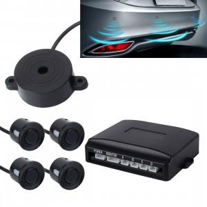 Parking de secours électromagnétique automatique 4 x capteurs, distance de détection: 0,3-3 m (noir) SH0302450-20