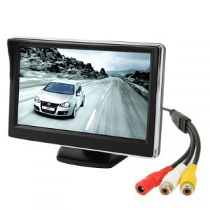 Moniteur de couleur de voiture d'écran d'affichage à cristaux liquides de 5.0 pouces avec le support SH031011-20