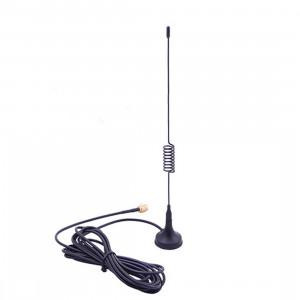 Antenne GSM SMA 900 / 1800MHz à ventouse, longueur de câble: 3m (noir) SS504B1149-20
