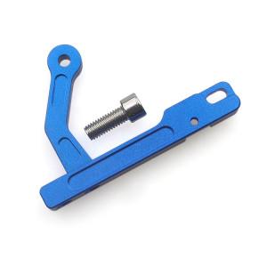Support de dispositif mobile CNC en fer métallique pour émetteur DJI Phantom 3 ou Inspire 1 (bleu) SH582L328-20