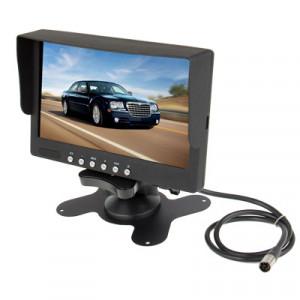 Moniteur couleur LCD 7 pouces / entrée vidéo bidirectionnelle, entrée audio unidirectionnelle SH0002479-20