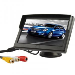 Moniteur TFT de 5 pouces TFT LCD moniteur couleur de sécurité (noir) SH01031622-20