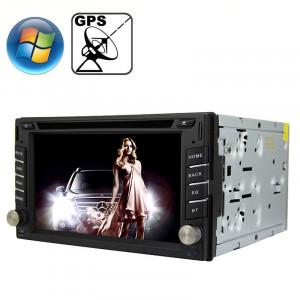 Lecteur DVD de voiture à écran de tableau de bord avec écran Bluetooth / GPS / RDS universel 6.2 pouces Windows CE 6.0 TFT SR31341945-20