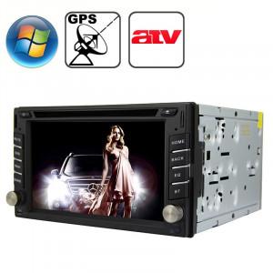 Lecteur DVD de voiture au format tableau de bord avec Bluetooth / GPS / RDS / ATV SR3135392-20