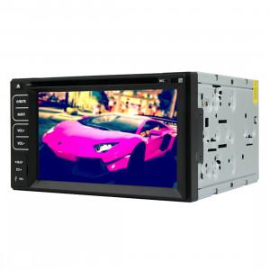 Rungrace Lecteur DVD de voiture au tableau de bord avec écran TFT 6,2 pouces universel 2 DIN avec RDS / Bluetooth / VTT SR3149707-20