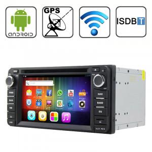 Rungrace 6,2 pouces Android 4.2 Multi-Touch écran capacitif lecteur DVD de voiture pour TOYOTA avec WiFi / GPS / RDS / IPOD / Bluetooth / ISDB-T SR3155318-20