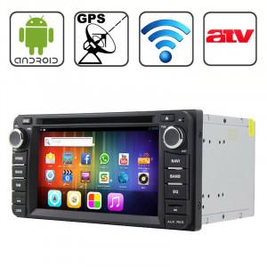 Rungrace 6,2 pouces Android 4.2 Multi-Touch écran capacitif lecteur DVD de voiture pour TOYOTA avec WiFi / GPS / RDS / IPOD / Bluetooth / ATV SR31571282-20