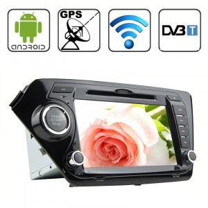 Rungrace 8,0 pouces Android 4.2 Multi-Touch écran capacitif lecteur DVD de voiture pour KIA K2 avec WiFi / GPS / RDS / IPOD / Bluetooth / DVB-T SR3162480-20