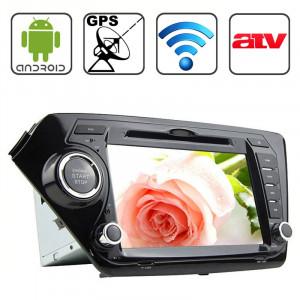 Rungrace 8,0 pouces Android 4.2 Multi-Touch écran capacitif lecteur DVD de voiture pour KIA K2 avec WiFi / GPS / RDS / IPOD / Bluetooth / ATV SR31651156-20