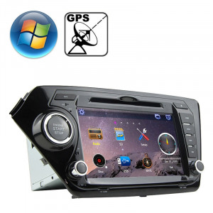 Lecteur DVD de voiture à écran de tableau de bord pour écran KIA K2 avec Bluetooth / GPS / RDS SR3168943-20