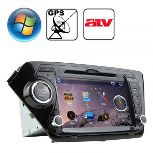 Lecteur DVD de voiture à écran de tableau de bord pour KIA K2 avec Bluetooth / GPS / RDS / ATV SR316911-20