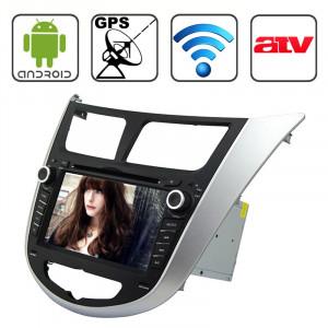 Rungrace 7,0 pouces Android 4.2 Multi-Touch écran capacitif lecteur DVD de voiture pour Hyundai Verna avec WiFi / GPS / RDS / IPOD / Bluetooth / ATV SR3173857-20