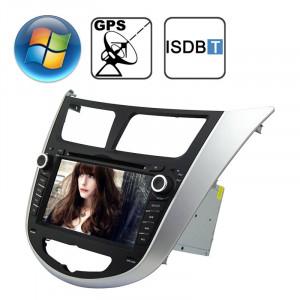 Lecteur DVD de voiture écran de tableau de bord pour écran Hyundai Verna avec Bluetooth / GPS / RDS / ISDB-T SR31751799-20