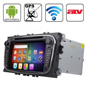 Rungrace 7,0 pouces Android 4.2 Multi-Touch Écran capacitif In-Dash Lecteur DVD de voiture pour Ford Mondeo avec WiFi / GPS / RDS / iPod / Bluetooth / VTT SR319783-20