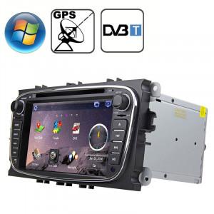 Rungrace 7,0 pouces Windows CE 6.0 Écran TFT Lecteur DVD de voiture dans la planche de bord pour Ford Mondeo avec Bluetooth / GPS / RDS / DVB-T SR31981719-20