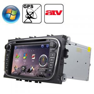 Rungrace 7,0 pouces Windows CE 6.0 Écran TFT Lecteur de DVD de voiture In-Dash pour Ford Mondeo avec Bluetooth / GPS / RDS / ATV SR32011657-20