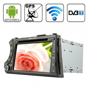 Rungrace 7.0 Lecteur DVD de voiture au tableau de bord capacitif multi-touch Android 4.2 pour Ssangyong Acyton Kyron avec WiFi / GPS / RDS / iPod / Bluetooth / DVB-T SR3202941-20
