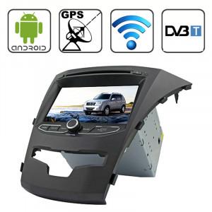 Rungrace 7.0 Lecteur DVD de voiture au tableau de bord capacitif multi-touch Android 4.2 pour Ssangyong Korando avec WiFi / GPS / RDS / iPod / Bluetooth / DVB-T SR3210345-20