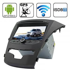 Rungrace 7,0 pouces Android 4.2 Multi-Touch Écran Capacitif Lecteur de DVD de voiture au tableau de bord pour Ssangyong Korando avec WiFi / GPS / RDS / iPod / Bluetooth / ISDB-T SR3211566-20