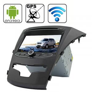 Rungrace 7,0 pouces Android 4.2 Multi-Touch Écran capacitif In-Dash Lecteur DVD de voiture pour Ssangyong Korando avec WiFi / GPS / RDS / IPOD / Bluetooth SR32121540-20
