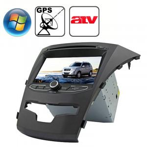 Rungrace 7.0 pouces Lecteur de DVD de voiture In-Dash pour Windows CE 6.0 Ecran TFT pour Ssangyong Korando avec Bluetooth / GPS / RDS / ATV SR3217874-20