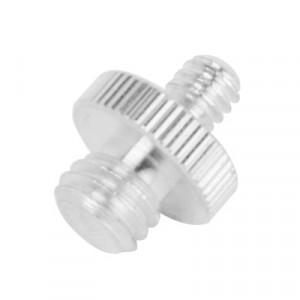 Vis en acier inoxydable 1/4 à 3/8 pour têtes de trépied (argent) SH00081142-20