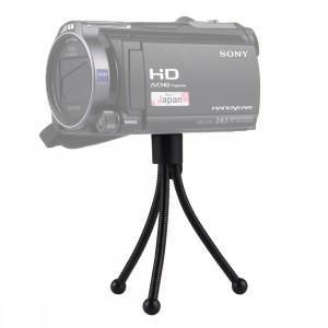 Support de trépied portable pour appareils photo numériques, hauteur maximale: 120 mm (noir) SH0108210-20