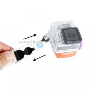 Bracelet à manchette TMC Quick Release pour GoPro HERO 4 / 3+ / 3/2/1 Caméra, Longueur max.: 22cm (Blanc) SB321W9-20