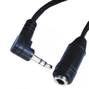 2,5 mâle à 3,5 câble convertisseur femelle, longueur: environ 15 cm (noir) S2-3021854-20