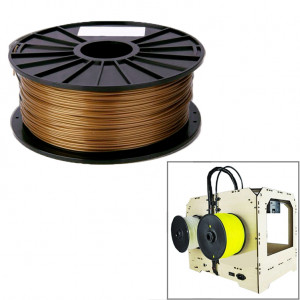 Filament pour imprimante 3D PLA 1,75 mm (or) SH25GD1948-20