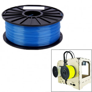 Imprimantes 3D transparentes PLA 1,75 mm (bleues) SH26BE1233-20