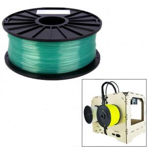 Imprimantes 3D transparentes PLA de 1,75 mm (vert) SH026G1595-20