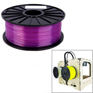 Filaments d'imprimante 3D transparents PLA 1,75 mm (violet) SH026P167-20