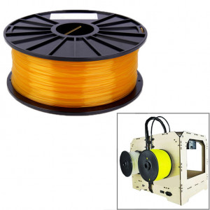 Filament pour imprimante 3D transparente PLA 1,75 mm (orange) SH26RG1489-20